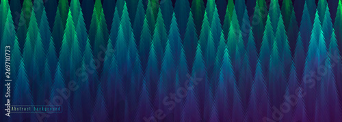 abstract geometric background trees forming geometric texture - fototapety na wymiar