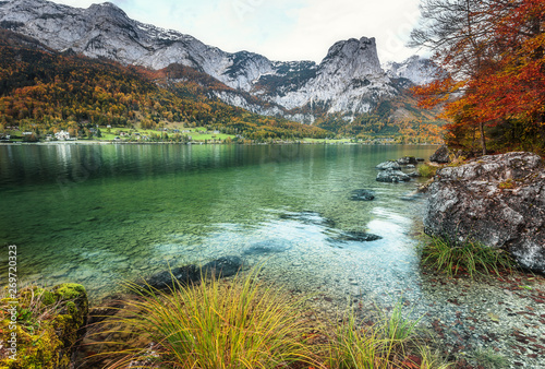 Wonderfull Nature Landscape Awesome Austrian Alps Scenery