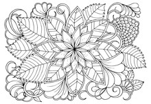 Coloring Page In Black And Whi...