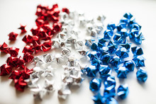 Red White And Blue Patriotic Origami Stars