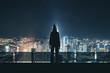 Man in hoodie in Kuala Lumpur