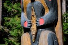Totem Pole At The East Gate, Algonquin Park
