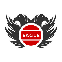 The Logo Of Two Eagle Heads