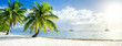 canvas print picture Summer vacation on a tropical island with beautiful beach
