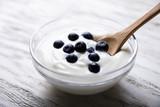 Blueberries And Yogurt In Bowl - 269759115
