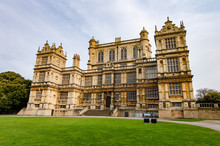 Facade Of Wollaton Hall In Nottingham, UK