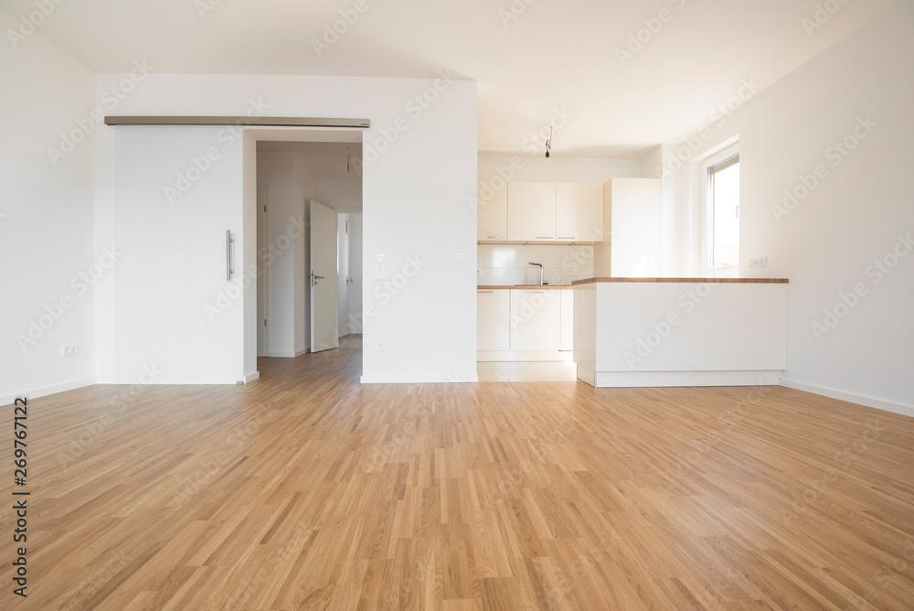 Fototapeta empty flat