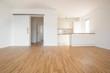 Leinwanddruck Bild - empty flat