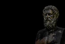 Bust Of Tragic Poet Sophocles