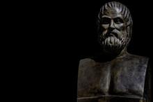 Bust Of Tragic Poet Euripides