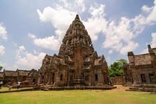 Prasat Hin Phanom Rung At Buri Ram Province Thailand