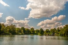 Open-air Swimming Is Internationally Famous On Hampstead Heath.