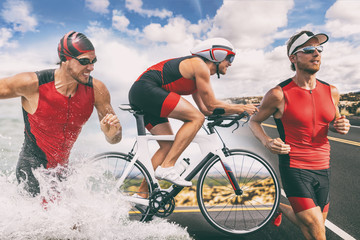 Triathlon swim bike run tri...