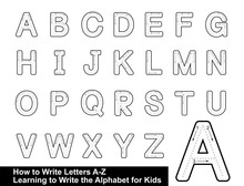 ALPHABET TRACING LETTERS  STEP...