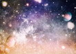 Leinwandbild Motiv Star cluster and nebula - A cloud in space. Abstract astronomical galaxy. Elements of this image furnished by NASA.