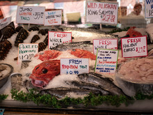 Fish For Sale At Pike Market