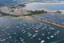 Top View Of Hong Kong Tolo Har...