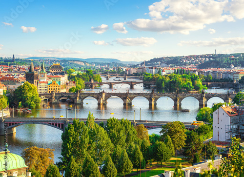 Photo  Bridges in Prague