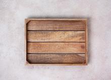Empty Wooden Box
