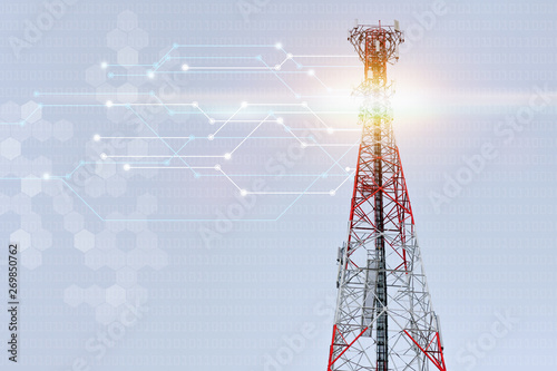 high cell tower Canvas-taulu