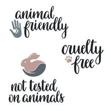 Not Tested On Animals, Cruelty...