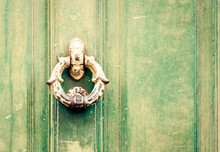 Exterior Vintage Door Knocker ...