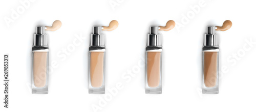 Fotografiet Foundation face makeup samples
