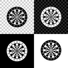 Classic Darts Board With Twent...