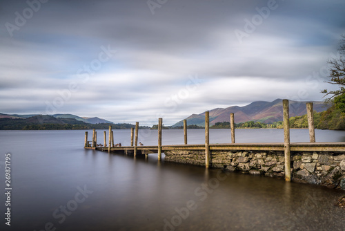 Derwent water in the Lake District Tablou Canvas