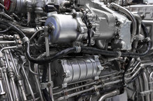 Engine Of Fighter Jet, Interna...