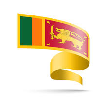 Sri Lanka Flag In The Form Of ...