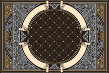 Decorative Ornate Retro Design...