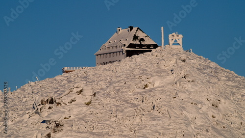Fototapeta Karkonosze Zima - Góry Sudety obraz