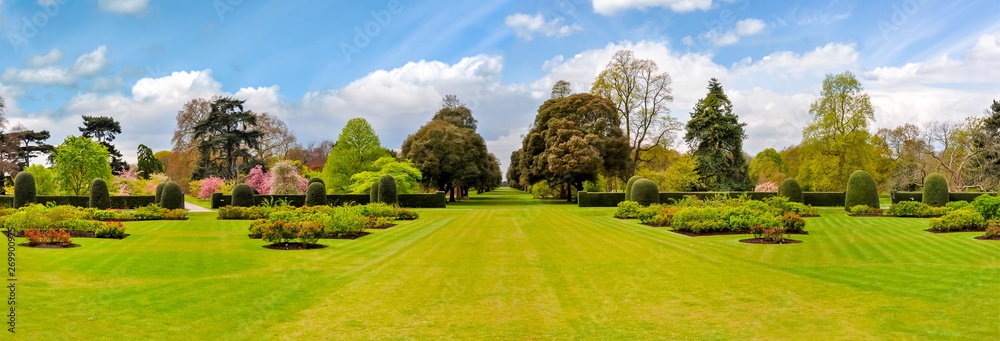 Fototapety, obrazy: Spring in Kew botanical garden, London, UK