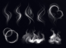 Steam Smoke Realistic Set