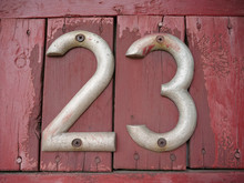 House Number Twenty Three
