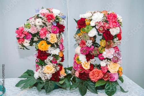 Poster Fleur diciotto fiore
