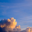 canvas print picture - Beautiful Cloud Formation at Sunset