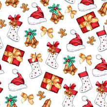 Christmas Decoration Elements ...