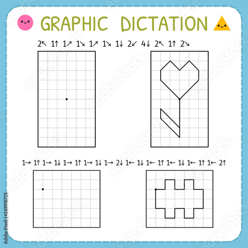 Graphic dictation Fototapet