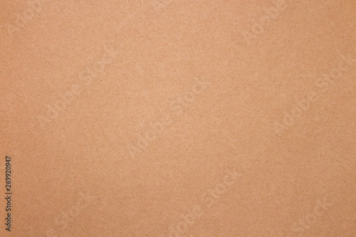 Light cardboard texture.The background is made of cardboard. - 269920947