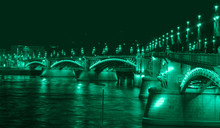 Margaret Bridge In Budapest - Hungary