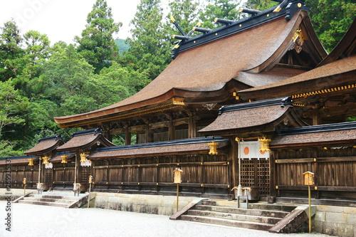 Fototapeta  紀伊山地世界遺産 霊場と参詣道 熊野三山 熊野本宮大社