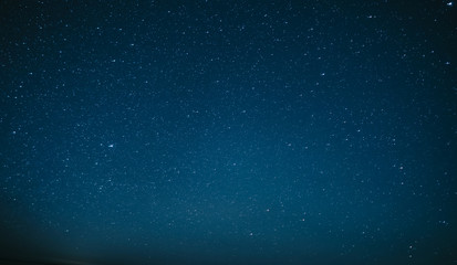 A simple picture of a beautiful starry sky