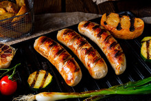 Delicious  Grilled Sausage Wit...