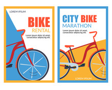 Bycicle Rental City Bike Marat...