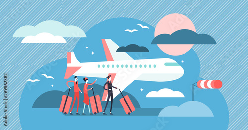 Photo Airline vector illustration