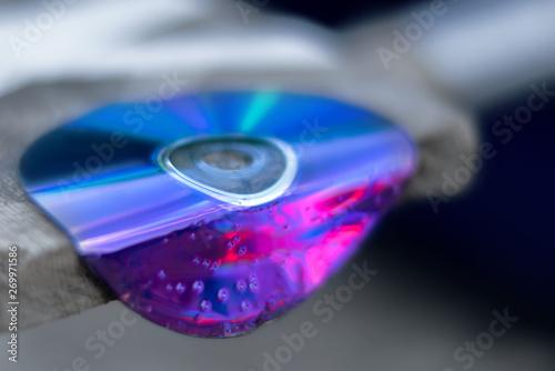 Valokuva  Damaged data
