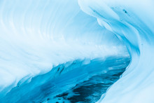 Ice Canyon Through A Glacier I...