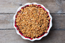 Berry Crumble, Crisp In Baking...